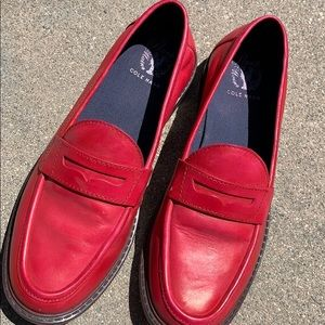 Pink Cole Haan Pinch loafers